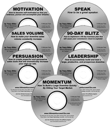 MLM Network Marketing Training Ultimate Success CDs (8-pack)