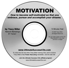 Network Marketing MLM Motivation CD by Tracy Biller